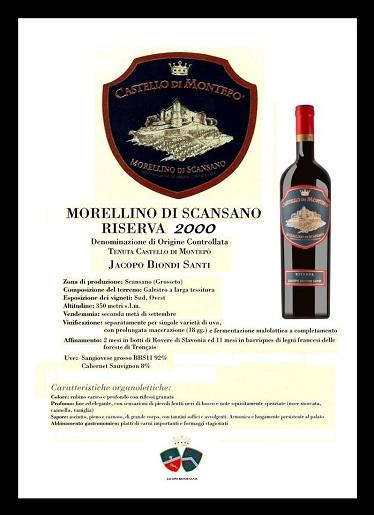Morellino di Scansano Riserva 2000