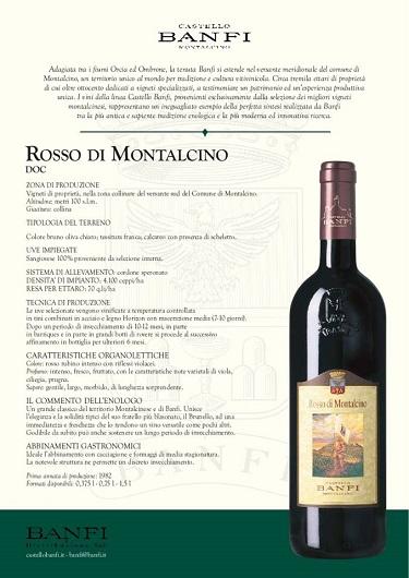 Rosso di Montalcino Banfi